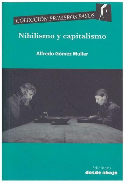 Portada Nihilismo y capitalismo