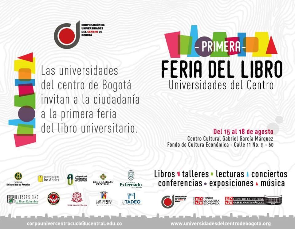 Primera Feria del Libro de Universidades del centro
