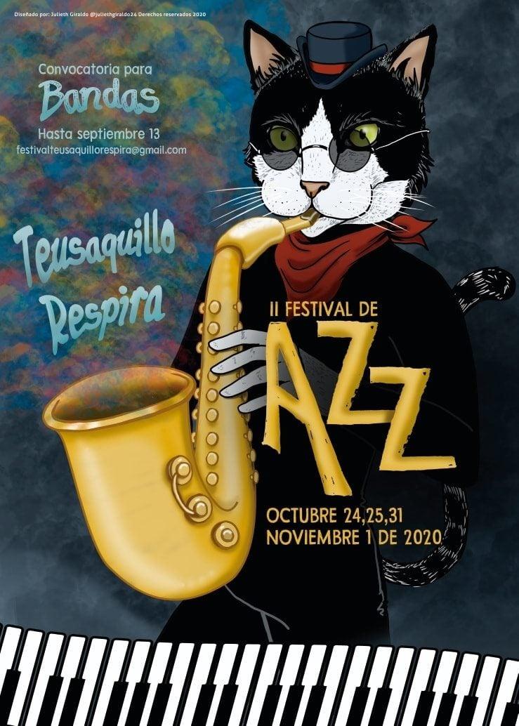 Convocatoria Bandas II Festival de Jazz de Teusaquillo