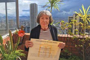 La Universidad de los Andes otorga doctorado honoris causa a la maestra Beatriz González